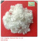 Material de enchimento altamente elástico de Hcs da fibra de grampo de poliéster