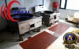 Estera de goma del drenaje del hueso de perro para las cocinas/los refrigeradores sin llamar de las estaciones de trabajo de las áreas de la transformación de los alimentos