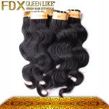 Cabelo indiano preto natural da venda por atacado do cabelo humano (FDX-TJ-IB41)