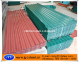 Corrugated листы Galvalume PPGL с краской PVDF
