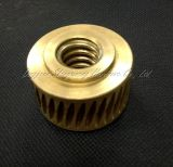 Guarniciones de cobre de la precisión