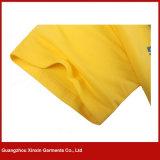 T-shirt relativos à promoção personalizados do polo do algodão poli da boa qualidade (P178)