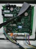 Les écrans LCD simples remplissants TV du model deux de station de pompage peuvent être placés