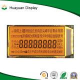 Écran LCD de compteur à gaz de mètre d'eau de module d'affichage à cristaux liquides de segment