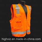 Veste reflexiva da segurança com o certificado ANSI07 (C2028)