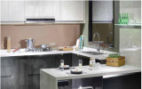 Projeto novo gabinete de cozinha 2017 lustroso elevado UV personalizado (ZX-011)