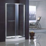 Deslizando Bowfront Shower Door com Easy Dobro-Side Clean Nano Coating