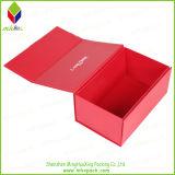 Elegante rígido de cartón impresión de la caja de zapatos
