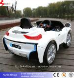 Bateria de carro elétrico do bebê a mini caçoa o carro com de controle remoto e música