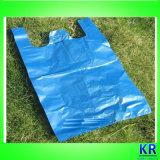 Sacs de transport en plastique, sacs à provisions HDPE avec poignée