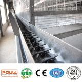Système automatique de matériel de volaille de cage de couche de la meilleure galvanisation des prix