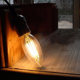 Bulbo de Edison de la bombilla de la vela del bulbo E14 del filamento del LED