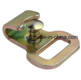 крюк W/Keeper 1in плоский/оборудование металла для храповика связывают вниз