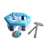 Льдед пингвина игр таблицы ломая стену блока льда стука кубиков льда баланса Toys игра Desktop отцовства взаимодействующая
