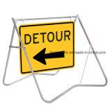휴대용 다중 메시지 표시 도로 교통 표지