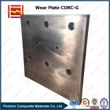 강선을 미끄러지기를 위한 Corc-G 합성 강철 입히는 착용 저항하는 격판덮개