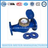 Mètre d'eau mécanique de bride à large diamètre