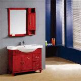 Vanità su ordinazione di legno diritta della stanza da bagno del pavimento impermeabile