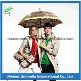 Parapluie droit automatique de golf d'anti cadeau promotionnel UV extérieur