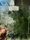 세륨, ISO (3-8mm)를 가진 명확한 잔물결 장식무늬가 든 유리 제품