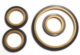PTFE 반지 + FKM 직사각형 밀봉 반지