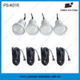 8W Solar Panel, 4PCS 2watt Bulbs를 가진 적당한 태양 LED Home Lighting System