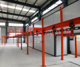 Drying Tunnel für Electrostatic Powder Coating anpassen