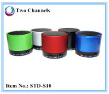 Speakerphone sin hilos portable MP3 móvil (STD-S10) del altavoz estéreo de Bluetooth del diseño mini