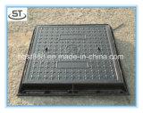 電気正方形のマンホールカバー600X900