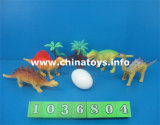Dinosauro di plastica molle dei giocattoli poco costosi di buona qualità impostato (1036802)