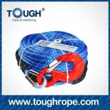 Lug/Eyelet/Sleeve/Hook/Tube Thimble (DWR)를 가진 Dyneema Winch Rope
