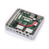I5-5250u удваивают PC Nic Fanless миниый 4 USB3.0 4USB2.0 с WiFi