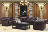 Premier sofa en cuir de vente de Chesterfield (CB318)