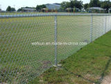 그려진 Green 및 Galvanized T Posts Peach Post 3D Wire Mesh Model