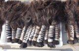 Armure non transformée de cheveux humains de Vierge de Remy