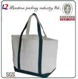 Sacchetto di acquisto non tessuto di carta della maniglia della tela di canapa del cotone del cuoio del sacchetto di acquisto del regalo (X039)