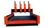 Vier Köpfe Ql-1325 Stein-CNC-Fräser-niedriger Preis-Stein-Ausschnitt