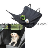 Schwarze Haustier-Auto-Sitzdeckel-Hundekatze-sicherer Sicherheits-Arbeitsweg