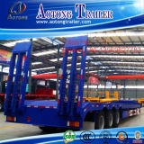 Sale를 위한 공장 Supplier Steel Material 3 알렉스 60t Low Bed Semi Trailer