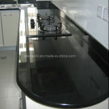Kitchen、Bathroomのための自然なBlack Granite/Marble Stone Vanity Top Countertop