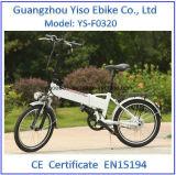 Mini plegamiento popular bici eléctrica plegable del camino de 20 pulgadas