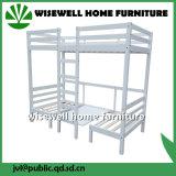 Kiefernholz-Dachboden-Bett-Schulmöbel mit Bücherschrank (WJZ-B28)