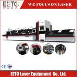 Il laser della fibra di taglio del tubo per tondo/quadro/convoglia pianamente