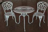 Muebles de exterior antigua de hierro fundido B & M Muebles de jardín de aluminio fundido Patio Muebles ( HC- GF- D04 )