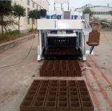 Подвижная бетонная плита делая машину