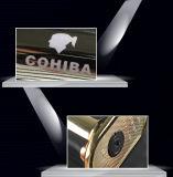 Cohiba предназначило лихтер сигары черноты факела двигателя сигареты Windproof (ES-CA-009)