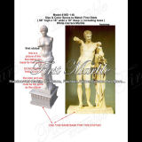 Statua bianca Ms-148 di Carrara della statua di pietra di marmo del granito