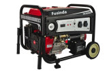 De Generator van de Benzine van de Benzine van Fusinda 3kVA met niet Vlakke Wielen