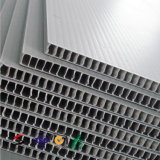 보호 Coroplast Corflute Correx 플라스틱 장을%s 방수 물결 모양 장