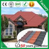 La feuille en acier ondulée de toiture couvre de tuiles la feuille de toiture ridée par vente en gros anti-calorique en métal de matériau de construction